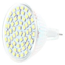 HU G/GU/GX5,3 MR16 3528 SMD 60 LED Lampe AMPOULE SPOT Lumiere BULB BLANC 12V 4W