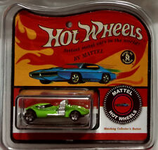 World's Smallest Hot Wheels Lime Twin Mill Miniatures Diecast Redline Package