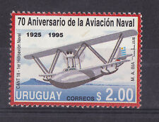 Naval Aviation plane Cant 18 Hydroplane airplane  URUGUAY Sc#1567 MNH STAMP