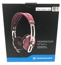 NEW SENNHEISER Momentum On-Ear Headphones Inline Remote & Mic for Apple (PINK)