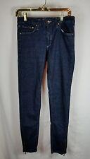 Men's Crocker Denim Stretch Jeans Size 30x32 Dark Wash Zipper in Leg 101