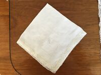 """Vintage Very Unusual Set of 7 Placemats and Matching Napkins w/ Monogram """"E"""""""