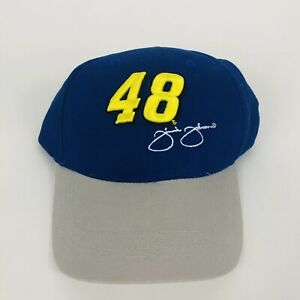 Jimmie Johnson # 48 2008 Nascar Kellogg Racing Adjustable Hat New Old Stock