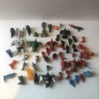 Assorted Lot of Super Hero Mashers Parts & Pieces Action Figures Incomplete EUC