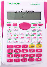 Pink Function scientific calculator with 240 calculation functions