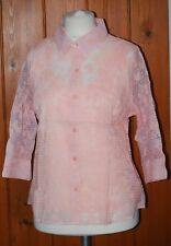BNWT, Damart, Ladies, Orange, Light, Casual, Blouse and Cami, Top, size 18