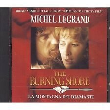 MICHEL LEGRAND - The burning shore - ROSSANA CASALE CD OST 1991 MINT CONDITION