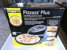 Countertop Rotating Pizza Oven Bake Fresh Pizza Heat Frozen Food Electric Cooker