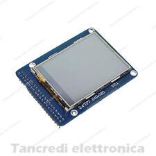 Display LCD colori Touchscreen TFT 2,4' 2,4'' 240X320 Arduino Raspberry PIC