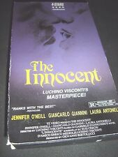The Innocent VHS ~ Luchino Visconti's Masterpiece - 732263021330