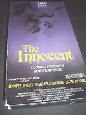 The Innocent VHS ~ Luchino Visconti's Masterpiece - 732263021330