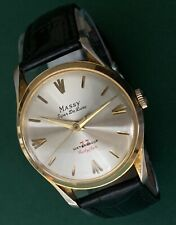 Vintage Gents Mechanical watch MASSY Super de Luxe - Antimagnetic