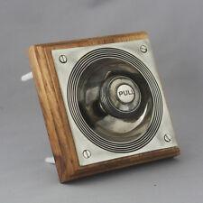 Nickel Claverley Front Door Bell Pull