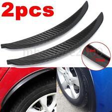 Universal Carbon Fiber Car Flares Wheel Fender Lip Guard Body Decoration 24.5cm