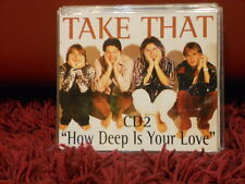 TAKE THAT - HOW DEEP IS YOUR LOVE - CD 2 - 4 TRACKS NUOVO