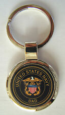 United States Navy Proud Parent Premium Key Chain