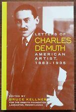 Letters of Charles Demuth: 1883-1935 - NEU - Gay interest - Amerik. Malerei