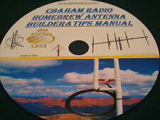 CB AND HAM RADIO HOMEBREW ANTENNA BUILDER AND TIPS MANUAL ON CD