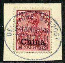 DP China Mi 17  Kab.-Briefstück  Seepost  Shanghai-Tientsin