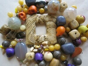 150 x MIXED GEMSTONE BEADS & CHIPS SELECTION CRAFTS JEWELLERY MAKING