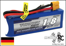 1x Turnigy 1800mAh 3S 20-30C Lipo Pack 1.8 NEU OVP Lipo Akku 11,1V Sport Cub