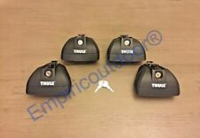 Thule 460R Rapid Podium Footpack+Thule One-Key System 4pk. Free Expedited Ship!