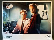 X-Files Creation Colour 10x8 Photo - Mulder DUCHOVNEY & Scully ANDERSON - B