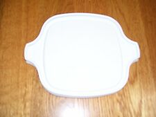 1 NEW Corning Ware P-41 P-43 Petite White Plastic Storage Cover Lid, FREE SHIP