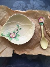 Carlton Ware dish and spoon in v good condition