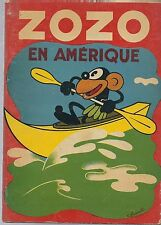 BD ZOZO en Amérique Franchi édition originale Touret 1936 rare