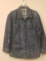 Levis Engineered Denim Jacket M Work Barn Yard Coat Selvedge 73100 Sweet Vintage