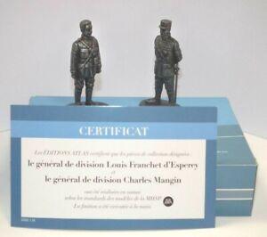 Atlas Editions 1/24 General d`Esperey & General Mangin HE16