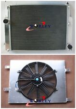 Aluminum radiator & shroud & fan for BMW E36 M3 Z3 325TD 320 323 328 manual MT