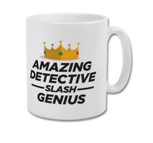 Amazing Detective Slash Genius BROOKLYN NINE NINE 99 Halloween Heist Coffee Mug