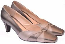 Van Dal Kitten 100% Leather Court Heels for Women