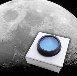 "Standard Size 1.25"" Moon Filter Scope Lens Astronomy Eyepiece"
