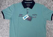 Paul Shark señores Polo-Shirt verde talla XXL