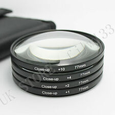 77mm Close Up Macro Lens Kit for Nikon D5300 D5200 D5100 D3300 D3200 D3100 D40