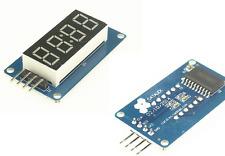 4 Bit Digital LED Display Segment Modul TM1637 4 Ziffern Arduino Raspberry Pi