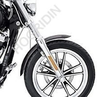 Harley dyna wide glide fxdwg chrome front end fork sliders lowers legs kit