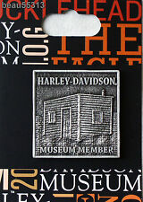HARLEY DAVIDSON #76 OF ONLY 250 SHED MUSEUM MEMBERS VEST JACKET PIN