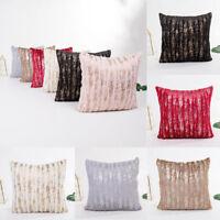Plush Pillow Sofa Waist Throw Cushion Cover Home Room Decor Cushion Cover Case
