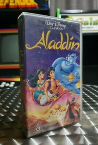 Aladdin - Walt Disney Classics - VHS Video Tape