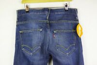 Mens LEVIS Jeans STRAIGHT Fit ENGINEERED Zip Fly DISTRESSED Red Tab W32 L29 P49
