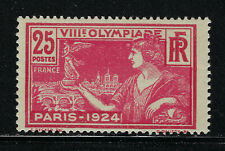 FRANCE SCOTT #199 1924 25 CENTIME OLYMPIC GAMES ISSUE MH F-VF!