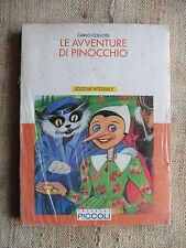 Le avventure di Pinocchio edizione integrale - Carlo Collodi - Editrice Piccoli