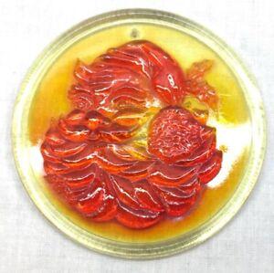 Mosser Glass Santa Claus Christmas Ornament Souvenir