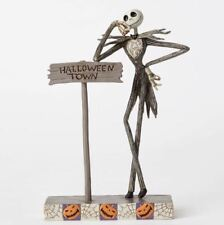 Jim Shore Disney Welcome to Halloween Town Jack Skellington Figurine 4051983 New