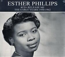 ESTHER PHILLIPS - RELEASE ME - EARLY YEARS 1950 - 1962 (NEW SEALED 4CD)