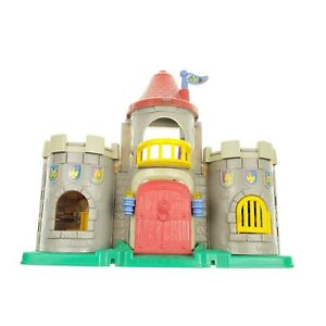 Fisher Price Little People Lil Kingdom Castle Playset Tested with lights